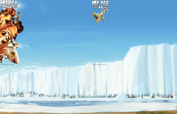 cast of ice age 3 in the ice world