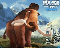 manny the wooly mammoth in the ice age