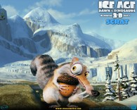 scrat the ice age saber toothed squirrel