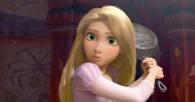 Rapunzel holding a pot from Disney's movie Tangled