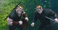 two robbers thugs from Disney's movie Tangled