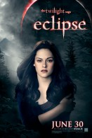 Bella from Twilight Saga Eclipse movie poster