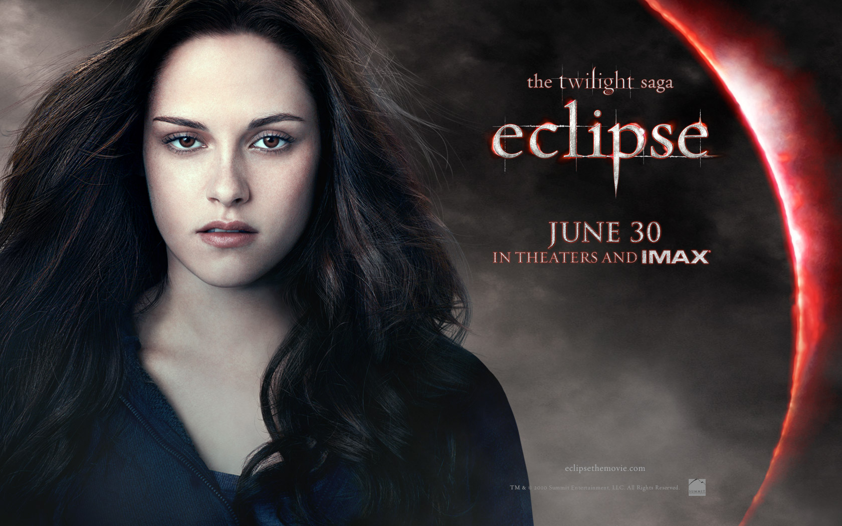 Bella From Twilight Saga Eclipse Movie Wallpaper