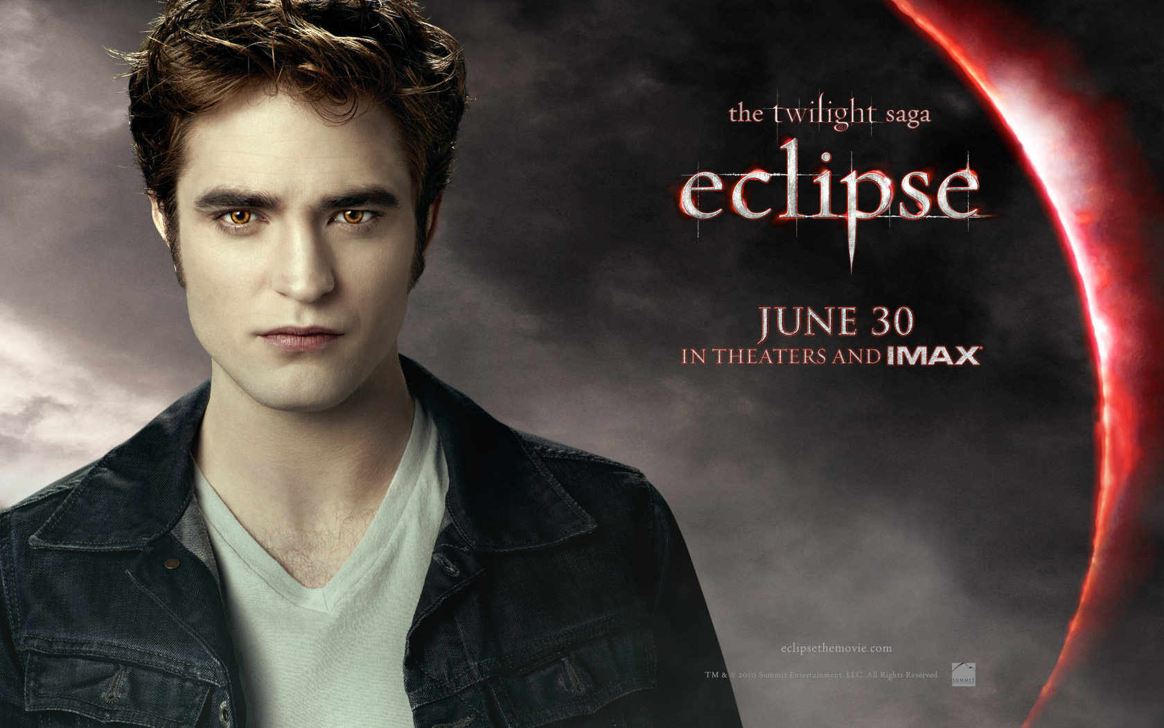 Edward From Twilight Eclipse Desktop Wallpaper