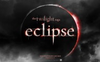 Twilight Saga Eclipse movie logo wallpaper