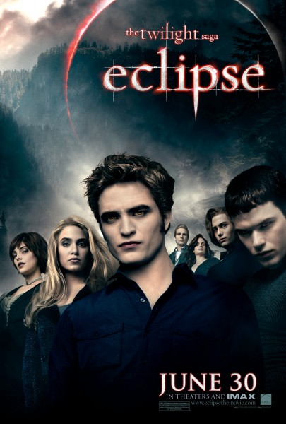 The Cullens from the Twilight Saga Eclipse movie poster wallpaper