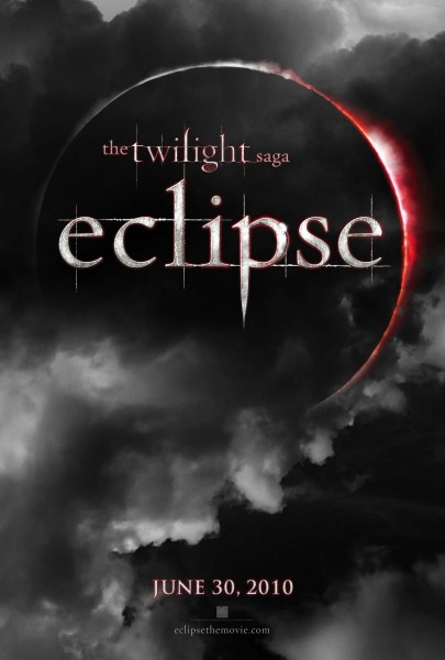 The Twilight Saga Eclipse movie logo poster