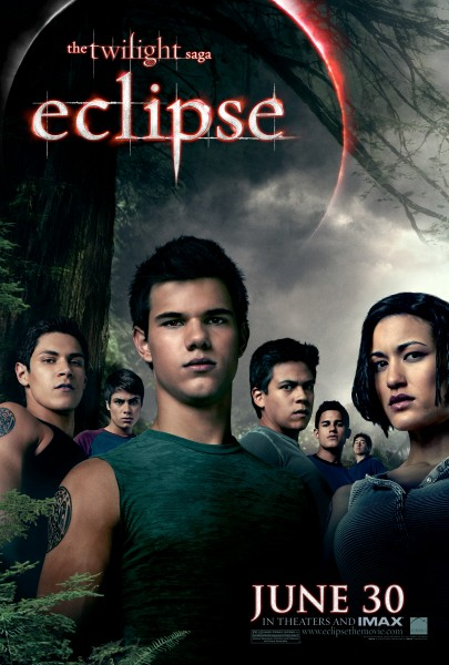 Jacob and the werewolves from The Twilight Saga Eclipse movie