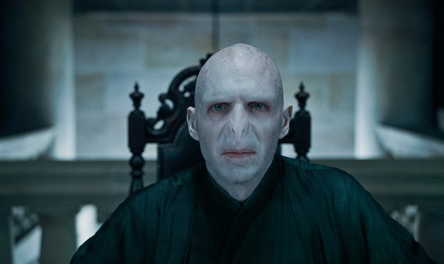 Lord Voldemort From Harry Potter Deathly Hallows Wallpaper Click