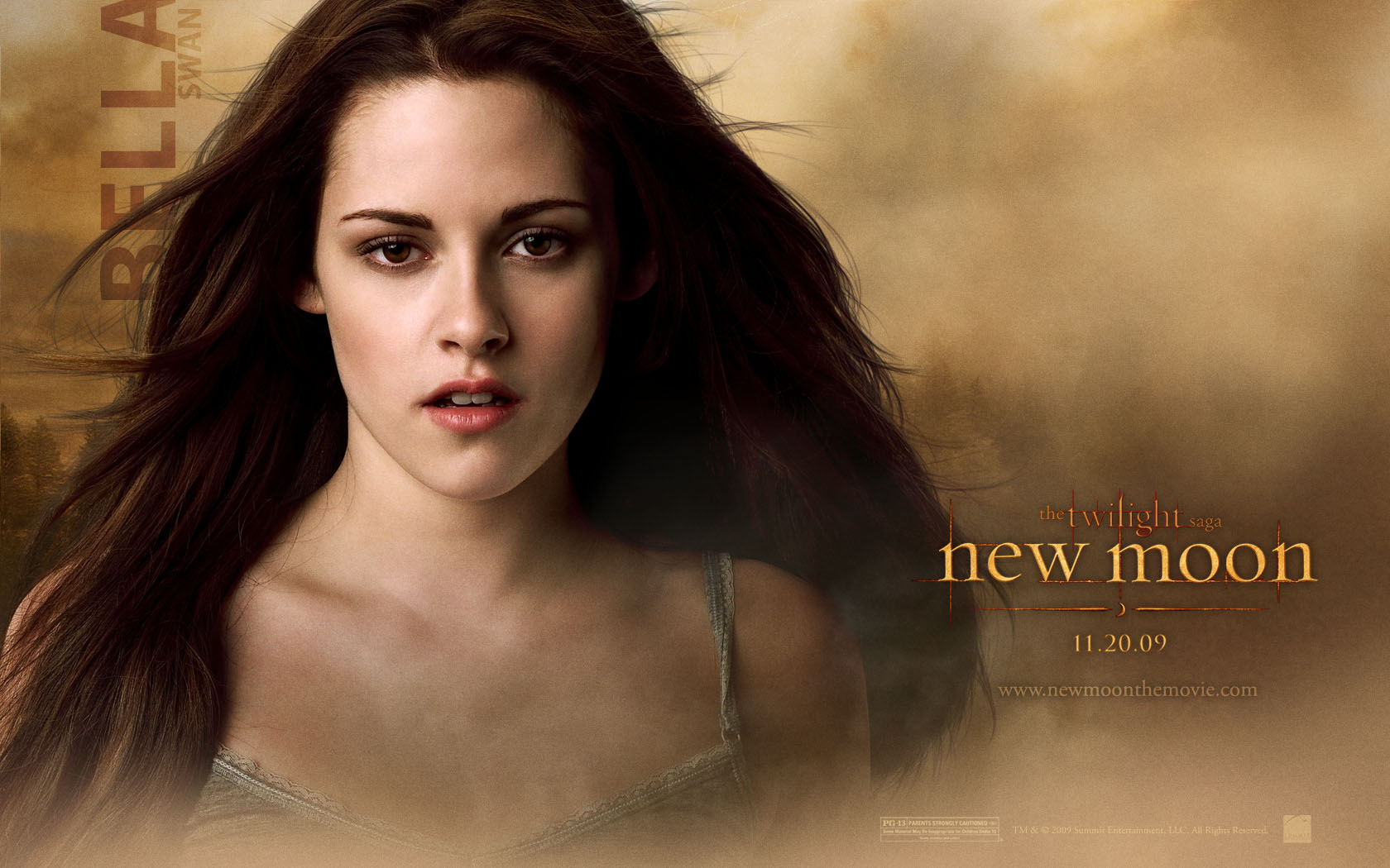 twilight new moon bella desktop wallpaper