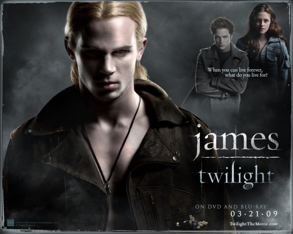 James from Twilight New Moon Wallpaper
