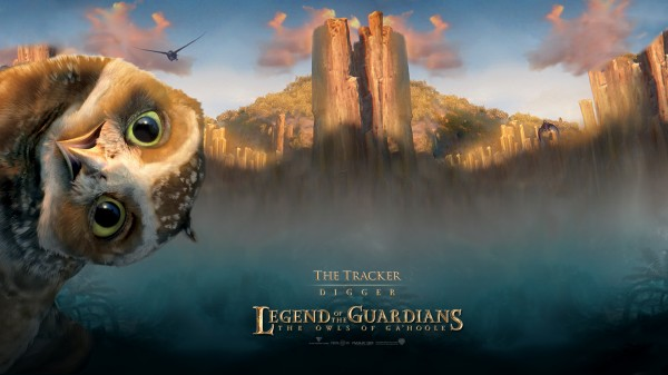 Digger the Owl from Legend of the Guardians