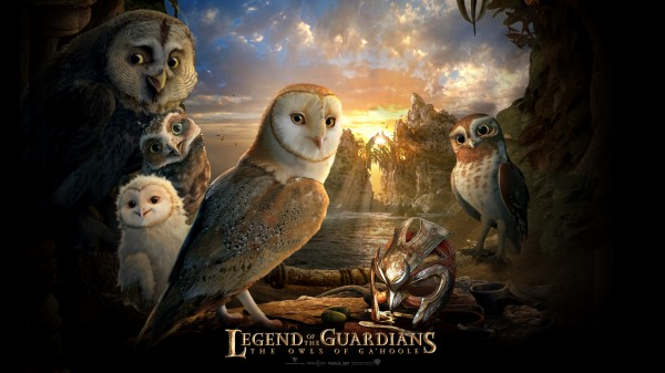 Main cast of owls from Legend of the Guardians