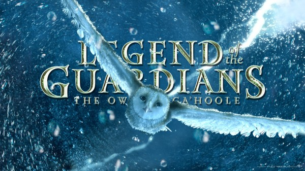 Soren the owl flying through a storm from Legend of the Guardians
