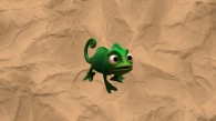 Pascal the chameleon from the Disney movie Tangled