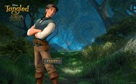 Flynn from the DIsney movie Tangled