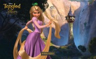 Rapunzel from the DIsney movie Tangled