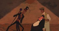 Dr. Facilier and Prince Naveen from Disney's Princess and the Frog