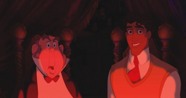 Prince Naveen and Lawrence from Disney's Princess and the Frog wallpaper