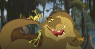 Louis the gator, Tiana and Naveen from Disney's Princess and the Frog wallpaper