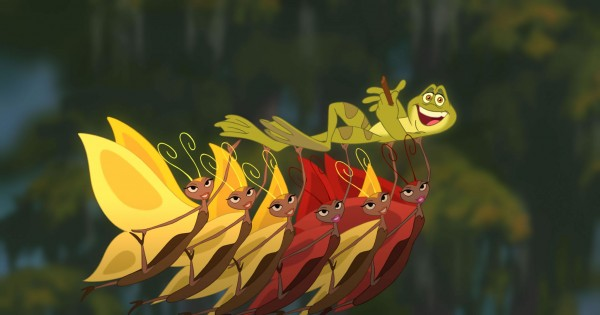 Prince Naveen as a frog from Disney's Princess and the Frog movie wallpaper