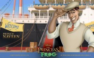 Prince Naveen from the Disney movie Princess and the Frog wallpaper