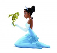 Tiana and Naveen pose together from the Disney movie Princess and the Frog wallpaper