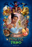 movie poster from the Disney movie Princess and the Frog wallpaper