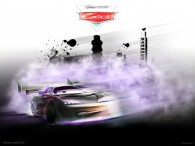 Boost the custom sports car from Pixar's Cars movie wallpaper