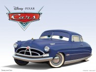 Doc Hudson the racing car from Disney/Pixar movie Cars wallpaper