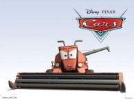 Frank the combine in the Disney Pixar movie Cars wallpaper