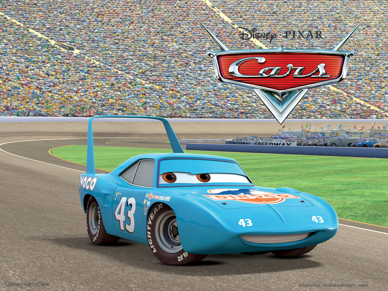 Nanopics Pictures King The Race Car From Pixar S Cars