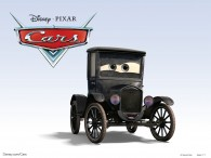 Lizzie the Ford Model T car from the Disney/Pixar move Cars wallpaper