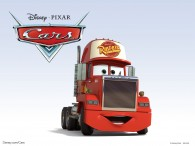 Mack the truck from Disney-Pixar movie Cars wallpaper