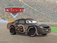 Nitroade the race car from the Disney/Pixar movie Cars