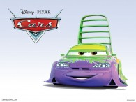 Wingo the sports car from the Disney/Pixar CG animated movie Cars