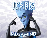 Megamind the villain from the Dreamworks CG animated movie Megamind wallpaper