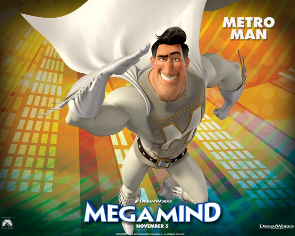 Metro Man from the Dreamworks CG animated movie Megamind wallpaper