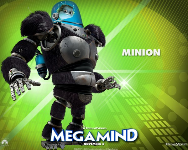 Minion from the Dreamworks CG animated movie Megamind wallpaper
