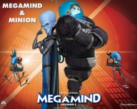 Minion and Megamind from the Dreamworks CG animated movie Megamind wallpaper