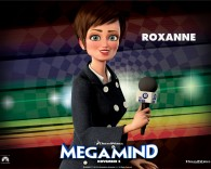 Roxanne from the Dreamworks CG animated movie Megamind wallpaper