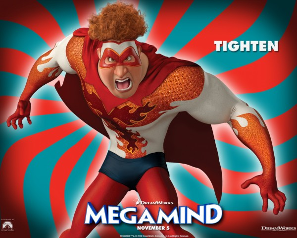Tighten the villain from the Dreamworks CG animated movie Megamind wallpaper