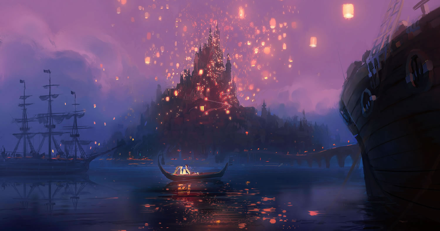 Rapunzel S Castle Concept Art From Disney S Tangled