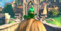 Pascal the Chameleon from Disney's CG animated movie Tangled wallpaper