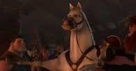 Maximus the horse from Disney animated movie Tangled wallpaper