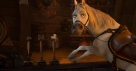 Maximus the horse at the bar from Disney animated movie Tangled wallpaper