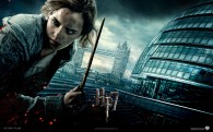 Hermione Granger from Harry Potter and the Deathly Hallows movie wallpaper