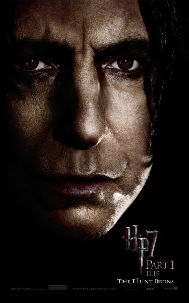 Professor Severus Snape from Harry Potter and the Deathly Hallows picture wallpaper