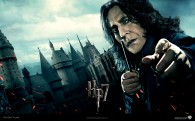 Professor Severus Snape from Harry Potter and the Deathly Hallows wallpaper