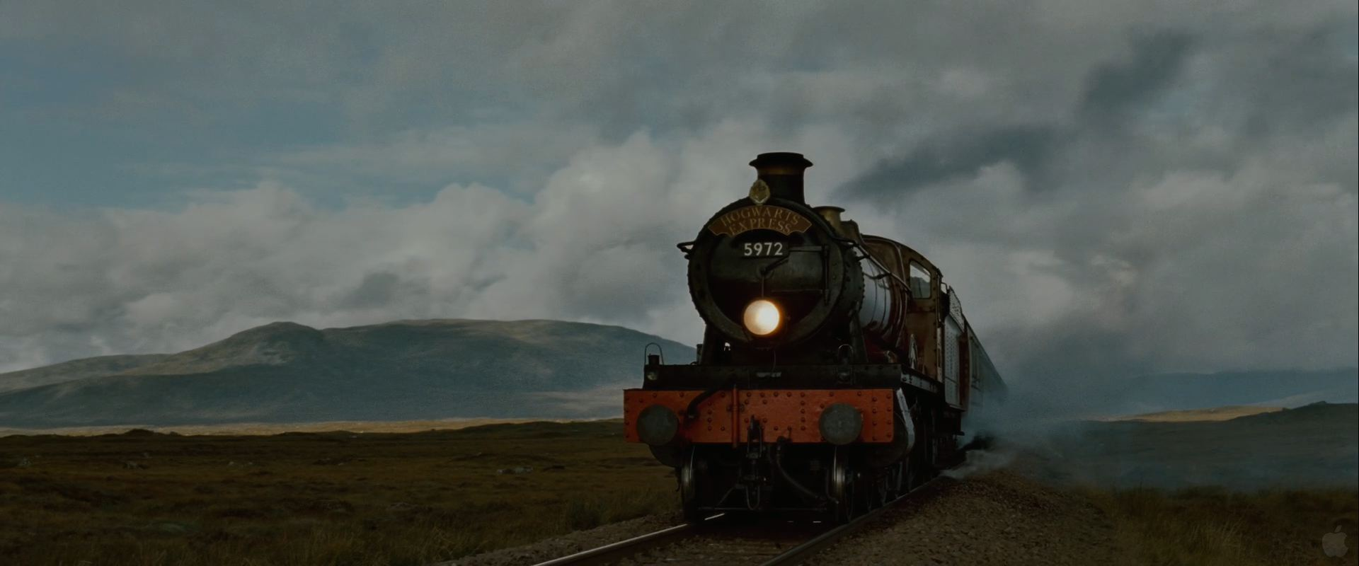 Hogwarts Express Train From Harry Potter And The Deathly Hallows Wallpaper